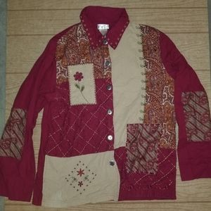 Women's Vintage Bobbie Brooks Button Down Shirt ~